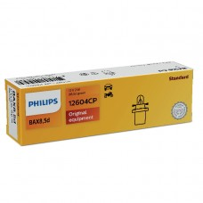 Лампа BAX 12V 2W B8.5d Green Vision PHILIPS