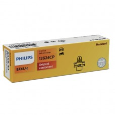 Лампа BAX 12V 1.12W BX8.4d Orange Vision PHILIPS