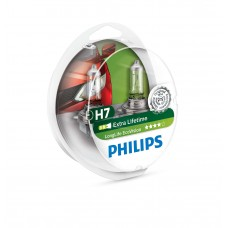 Лампа H7 12V 55W PX26d LongLife EcoVision PHILIPS