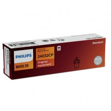 Лампа BAX 24V 1.2W BX8.5d Brown Standart PHILIPS